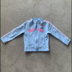 Early 2000s Disney Cinderella track jacket sz 4T